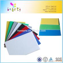 Color foam board manufacture