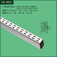 Metal Wall thin wall channel for bracket