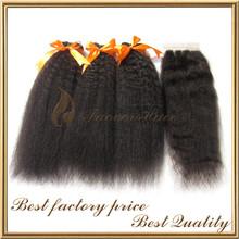 Tangle Free Wholesale Yaki Straight Yaki Pony Hair Braiding Hair Braids