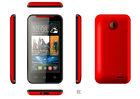 Slim design 4 inch dual sim phone with leather case P310