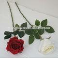 gros boutons de rose bouquet de fleurs en soie artificielle avec de haute qualité