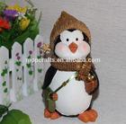 Polystone/resin/Polyresin christmas penguin statue