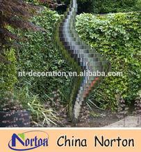garden/outdoor abstract stainless steel sculpture NTS-182