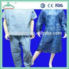disposable pyjamas,scrub suit,(pant+shirt) hospital uniforms