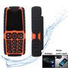 cheapest mobile phone 5000mAh power bank dual sim cards mobile phone led light MTK6250D single core mobile phone