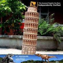 Mon Dino - maison Unique décoration sculpture architecturale tour de pise