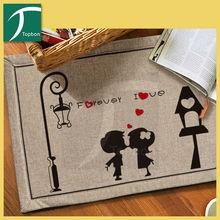 Topbon latest design top selling brand floor mat
