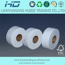 2014 Natural white big roll tissue manufacturer