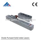 5w 15w 25w 50w metal rf laser tube co2 for lazer machine