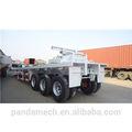 Factory prix 60 ton 5760 3 conteneurs semi remorque essieu/40 piedsil conteneurs semi remorque avec 12 verrous tournants