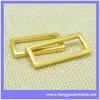 Belt loop metal buckle
