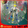0.8mm PVC or TPU human bumper ball with EN71 SGS CEUL certificate