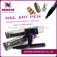 Hot designs nail art pens Polish Painting Drawing Bottle Pen