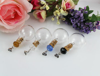 24.5MM Glass Ball With Beaded Corks