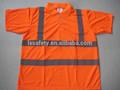 hivis de seguridad visibilidad naranja camisas de polo