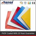 alusign 2014 novo design de alumínio composto pe e pvdf pintura para acp