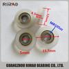 MR105zz V groove sliding window door bearing small roller wheel