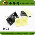 Mobiliário hardware prateleira de plástico conector