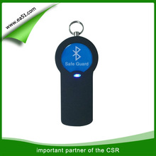 China market bluetooth wireless keychain alarm for old people
