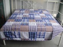 double patchwork quilt comforter, bed sheet patchwork quilt