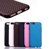 Pratical soft tpu carbon fiber phone case for iphone 6 4.7''