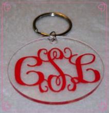 custom acrylic/plastic keychain for promotion