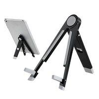 """Metal Folding Triangle Stand Holder for iPad mini 2 Retina,iPad Mini, Samsung Galaxy Tab and 7"""" Tablet PC"""