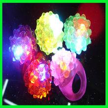 Christmas led light finger magic finger lights finger ring flashing led light
