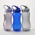 2014 nuevo diseño de plástico de promoción gimnasio de beber la botella de agua libre de bpa