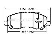 D866 MN102618 for CHRYSLER DODGE MITSUBISHI JEEP front brembo brakes