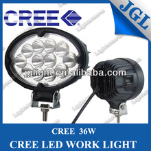 2015 new 36W CREE LEDs work light 36w high intensity CREE LED Driving lamp spot/ flood beam