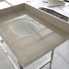 bathroom accessory poly stone vanity top sink basin