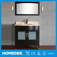 Homedee turkish bathroom cabinet furniture with wash hand basin