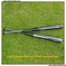 Single piece design-Featuring A3 Composite baseball bat / Softball bat ,For ASA,USSSA,NSA ISA,high school,NCAA use