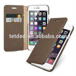 "TETDED Premium Leather Case for Apple iPhone 6 4.7"" -- Mellac II (Prestige: Khaki)"