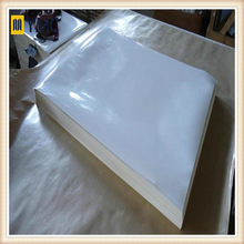 A grade self adhesive self adhesive woodfree paper Labelstock / Glassine Liner for printing sticker