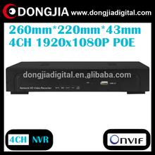 DONGJIA DA-2004P 4 channel network p2p onvif hd 4ch poe nvr kit