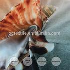 2015 new sea shells printed on elastic yoga fabric nylon lycra yarn exported in China