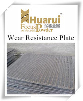 China high quality Cr+C 6+4 wear resistance steel plates