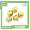 Fashion iron gold beads, metal gold beads, 8mm smooth round iron bead in gold plating for jewelry making