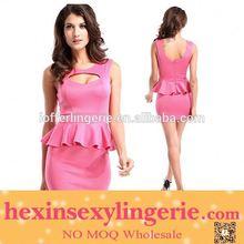 Drop shopping Manufature sexy open back celebrity dress