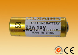 12V rated voltage and 12v, 1.5v 23a, aa size battery 23a