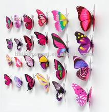 PVC artificial butterfly