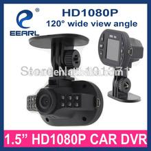 "New Cheapest 1.5"" HD hd camera car side mirrors With 3.0MP Camera & G-Sensor C600"