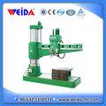 Manual da máquina de perfuração z3080x25, capacidade de perfuração diâmetro 80mm
