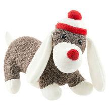 2014 Wholesale Knit Sock Dog Plush Toy /Knit Sock Toy /Plush Dog Toy