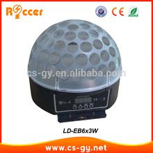 Popular Family party necessary decoration led ball light 6x3W