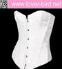 Loverbird Black overbust pattern women sexy corset lingerie