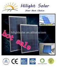 best pv solar panel price for 130W-300W/best price per watt solar panels