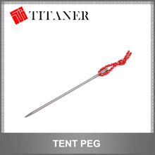 camping titanium metal tent pegs